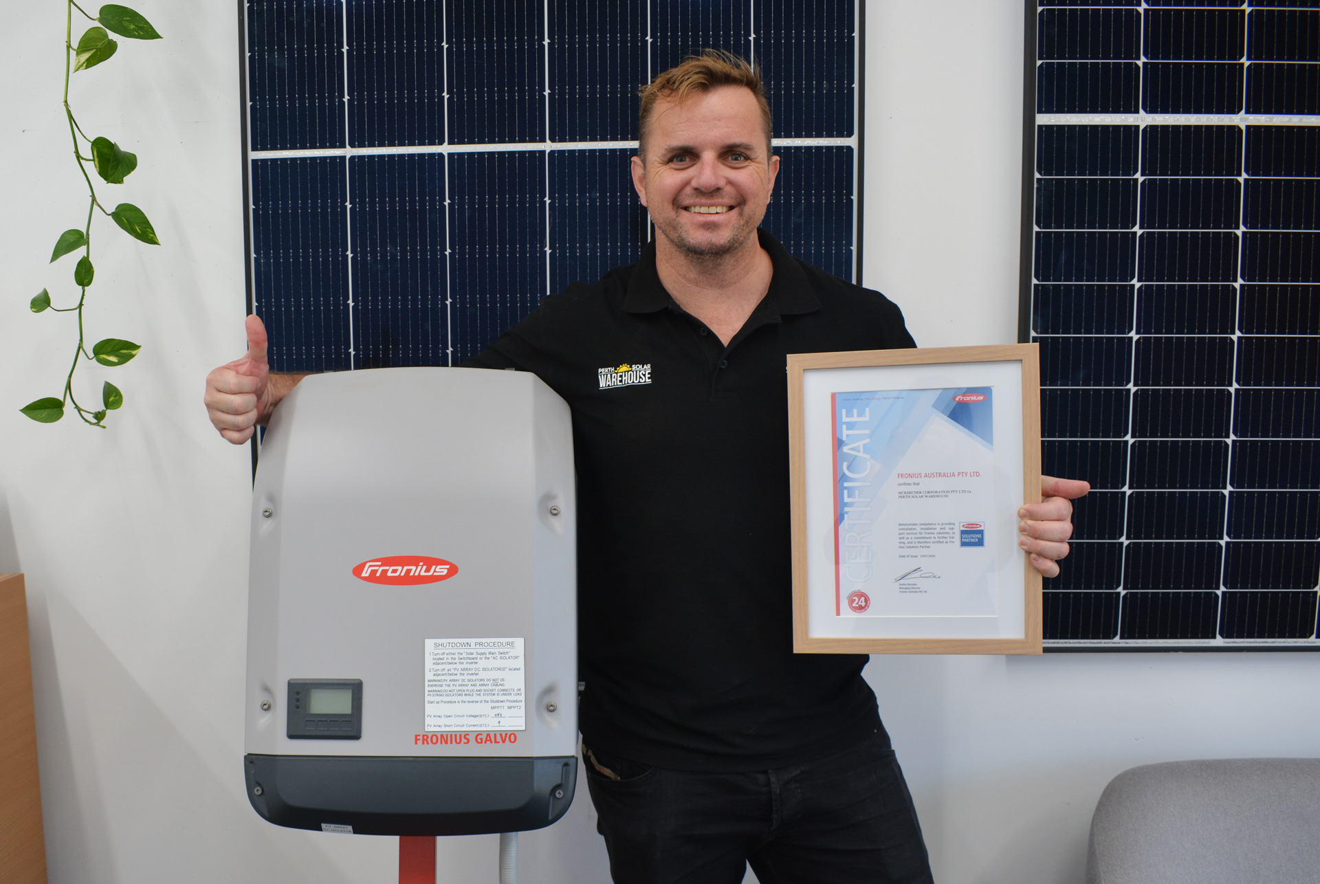 Fronius Solutions Partner - Perth Solar Warehouse